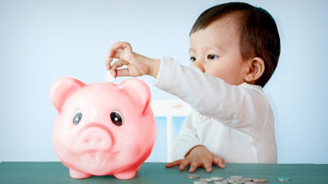 banque et enfants